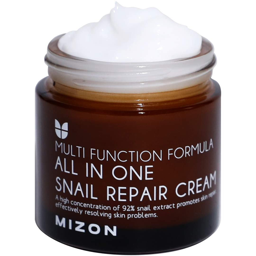 Snail Repair Cream Face Moisturizer with Snail Mucin Extract – Best Moisturizers for black skin