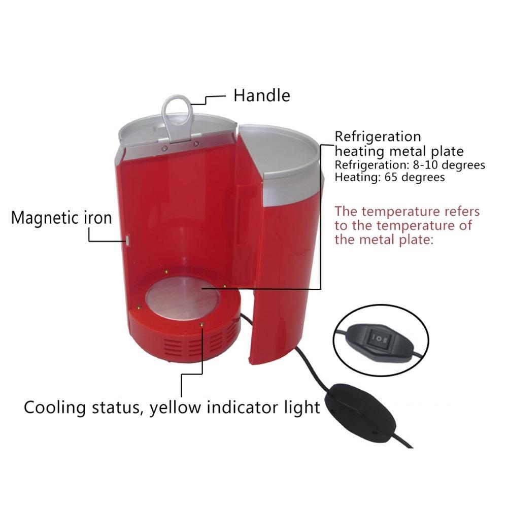 DC12 V Mini frigorífico eléctrico caja de congelador USB debout ...