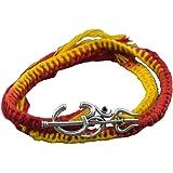 fourseven 925 Sterling Silver Dwishakti Brooch Moli Bracelet for Men and Women