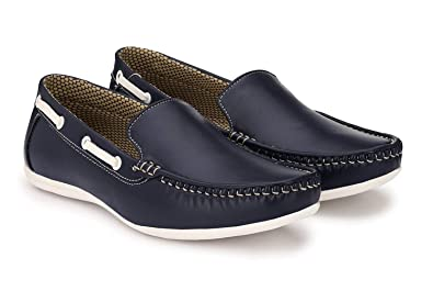 d04512fdc75 SGTS Men s Blue Loafer Shoes  Buy Online at Low Prices in India - Amazon.in
