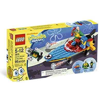 LEGO SpongeBob Heroic Heroes of the Deep 3815: Toys & Games