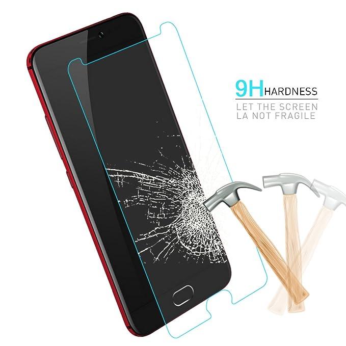 hyyt Crista protector de pantalla Protector de pantalla de cristal templado 9H Dureza fullflex - Protector de pantalla de cristal Protector de pantalla para UMI Z 、 Z Pro Z1 Smartphone: Amazon.es: