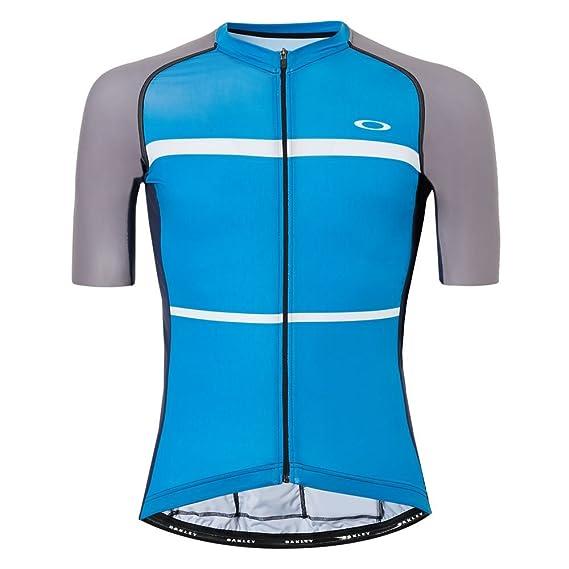 a645d224d Oakley Men s Colorblock Road Cycling Jersey  Amazon.co.uk  Clothing