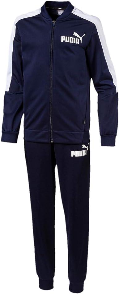 PUMA Baseball Collar Track Suit B Chándal, Niños: Amazon.es ...