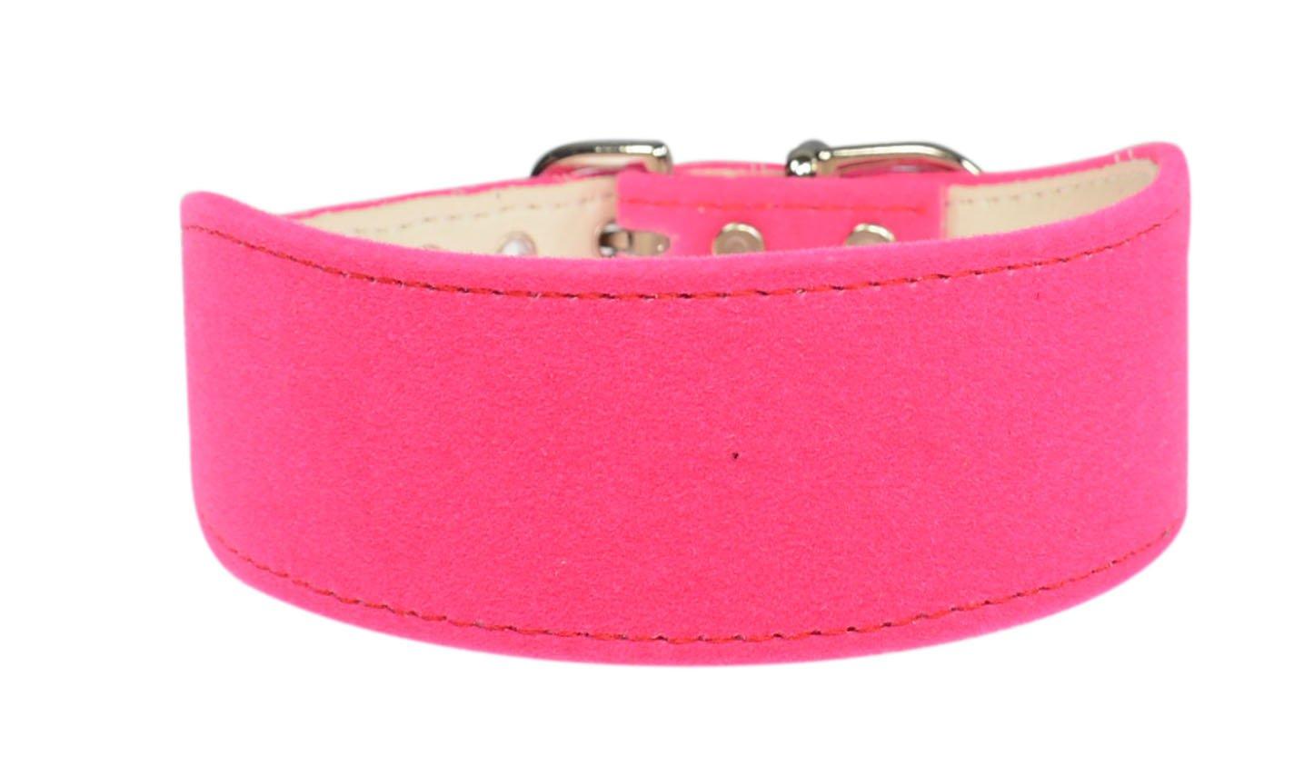 Evans Collars Shaped Collar, Size 16, Velvet, Pink