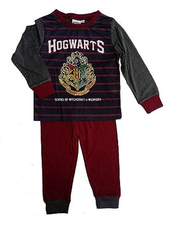GladRags Boys Harry Potter Hogwarts Pyjamas Age 3 4 5 6 7 8 9 10 Years   Amazon.co.uk  Clothing 037e3eb28