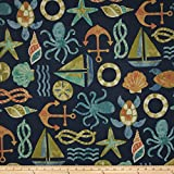 nautical outdoor fabric - Swavelle/Mill Creek Indoor/Outdoor SeaPoint Neptune Fabric By The Yard