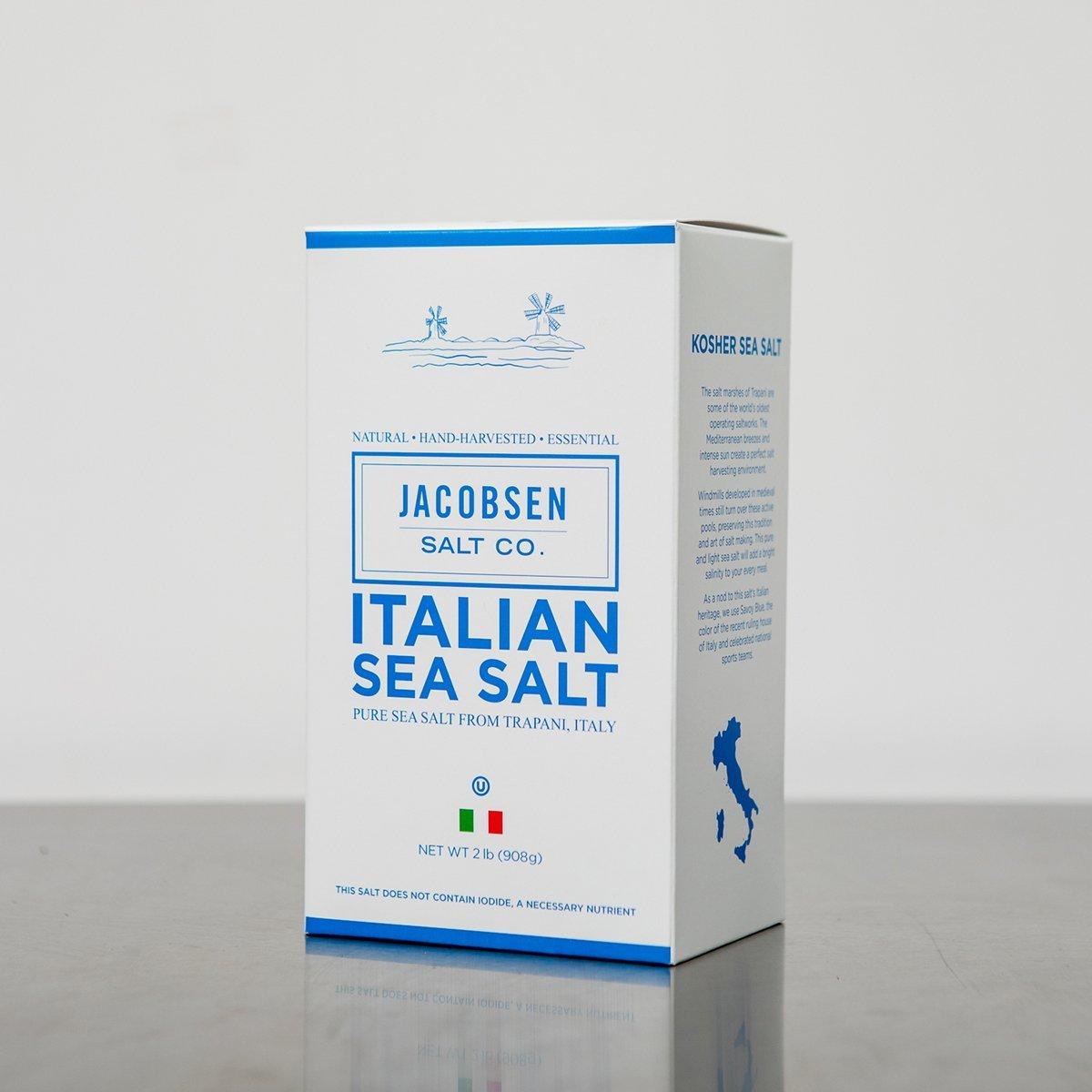 Jacobsen Salt Co. Pure Italian Trapani Kosher Sea Salt, 2 Pound