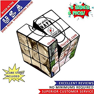 photo puzzle cube: Toys & Games