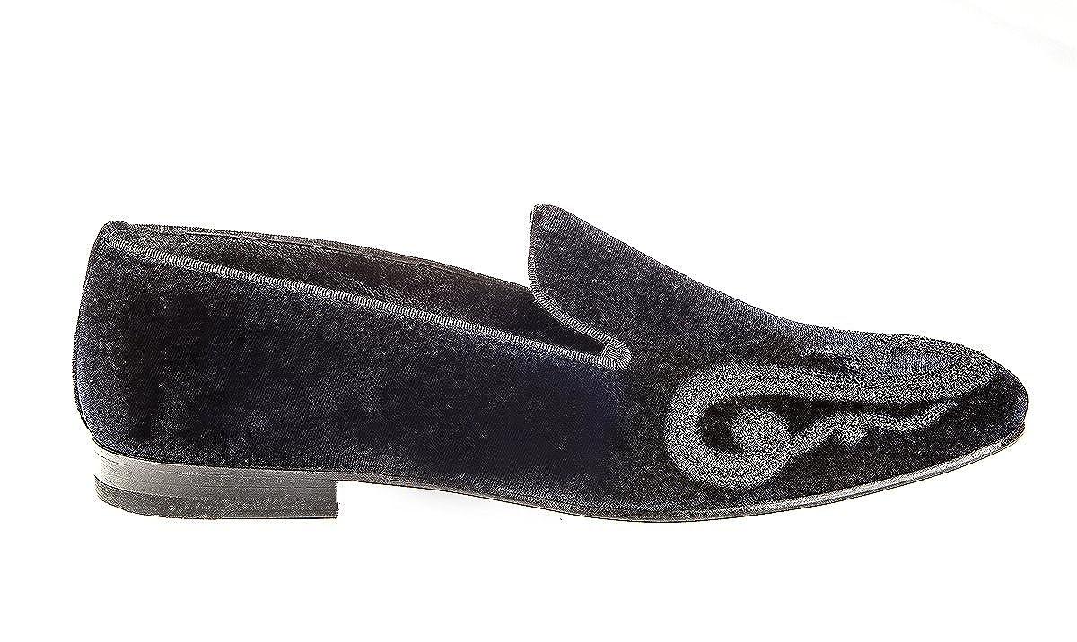 Roberto Cavali 6406 blå läder Italienska Italienska Italienska Designer män skor  mycket populär