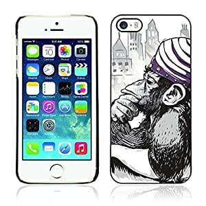KOKOJIA Colorful Printed Hard Protective Back Case Cover Shell Skin for Apple iPhone 6 4.7 ( Dexter's Lab Mojo Jojo Illustration )