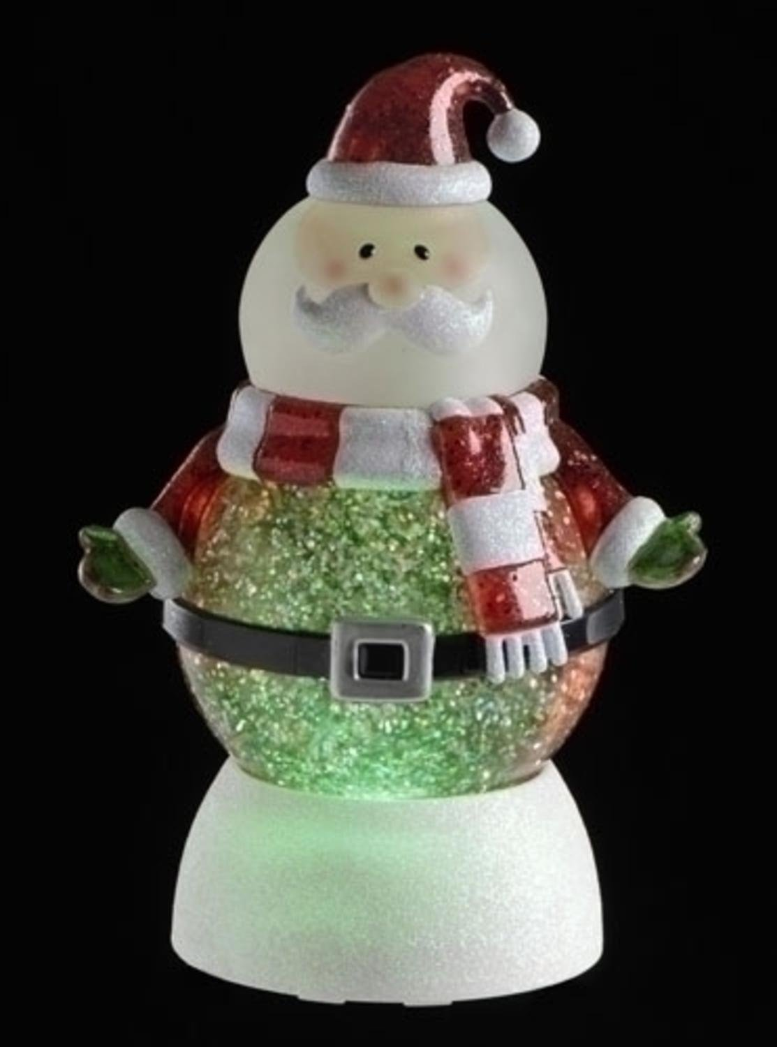 Amazon.com: Roman LED Lighted Color-Changing Santa Claus Christmas ...