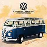 VW Camper Vans Official 2018 Calendar - Square Wall Format