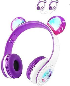 Woice Kids Wireless Headphones with Mic