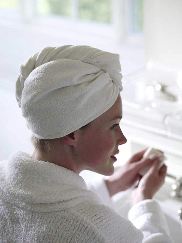 Aquis Lisse Hair Turban (White) Hampton Brands Ltd AE1330WHW1BA