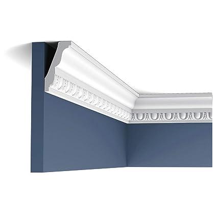 Cornisa Moldura Perfil de estuco Orac Decor C212 LUXXUS Elemento decorativo para pared y techo 2