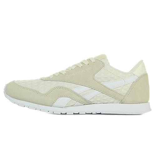 Reebok Mujeres Calzado / Zapatillas de deporte CL Nylon Slim Architect: Amazon.es: Zapatos y complementos
