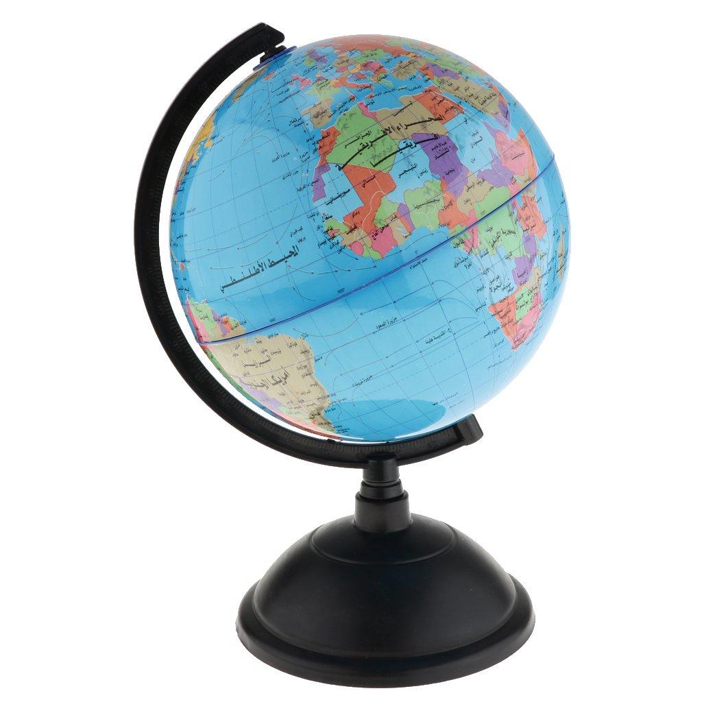 Fityle Arabic Language Desktop Teaching Sphere Globe Model for Home Office School