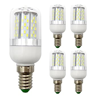 Pack de 4, E14 LED bombilla 12 V - 24 V, 3,2