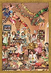 Victorian Decorating Angels German Advent Calendar by PINNACLE PEAK