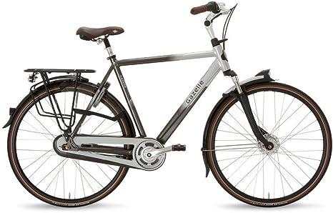 Gazelle Arroyo C8 28 pulgadas señor bicicleta 8 marchas de antracita