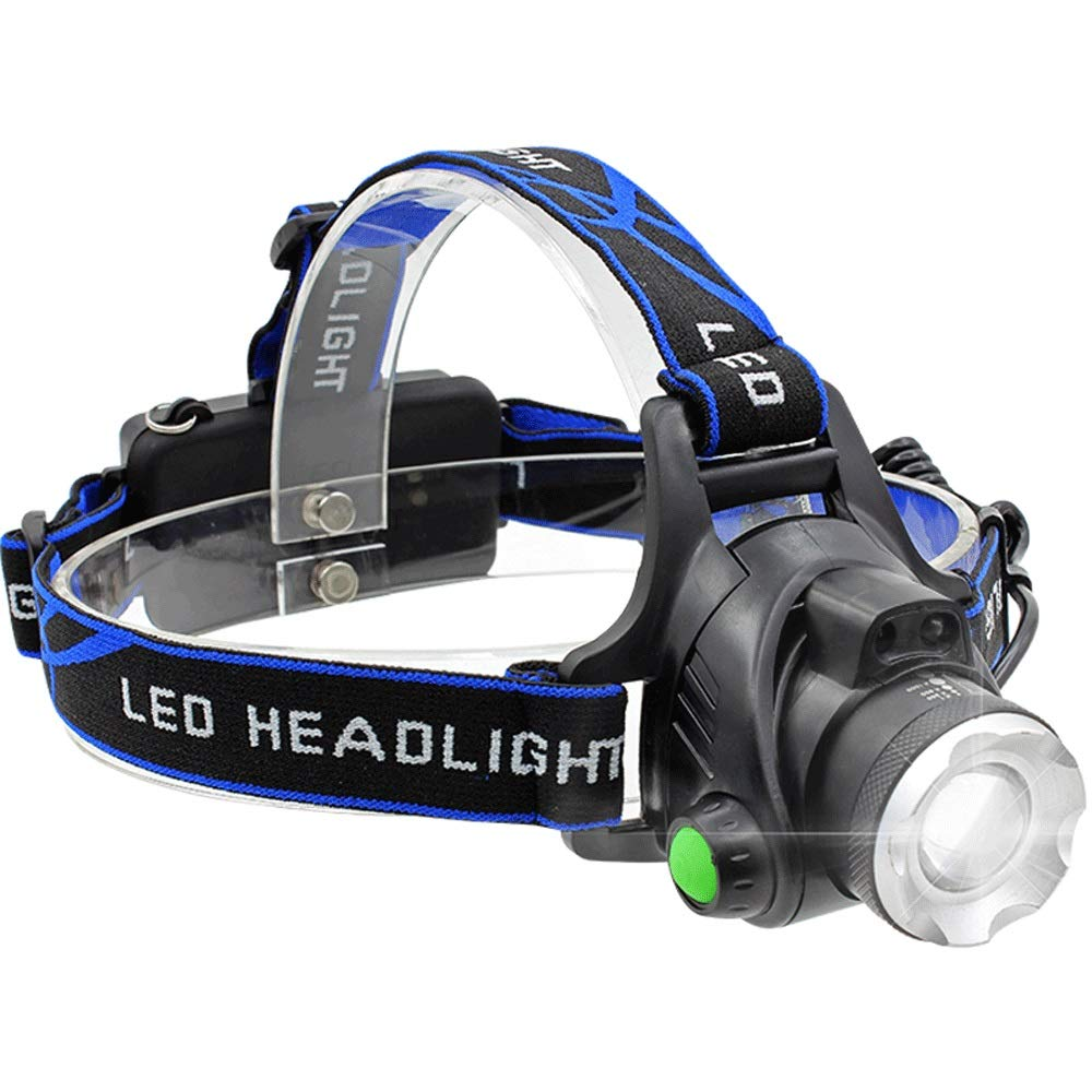 Portable USB Charging Headlights, T6100W LED Work Headlights, Camping Lights, Hiking, Outdoor, Fishing. Search Distance 450 Meters