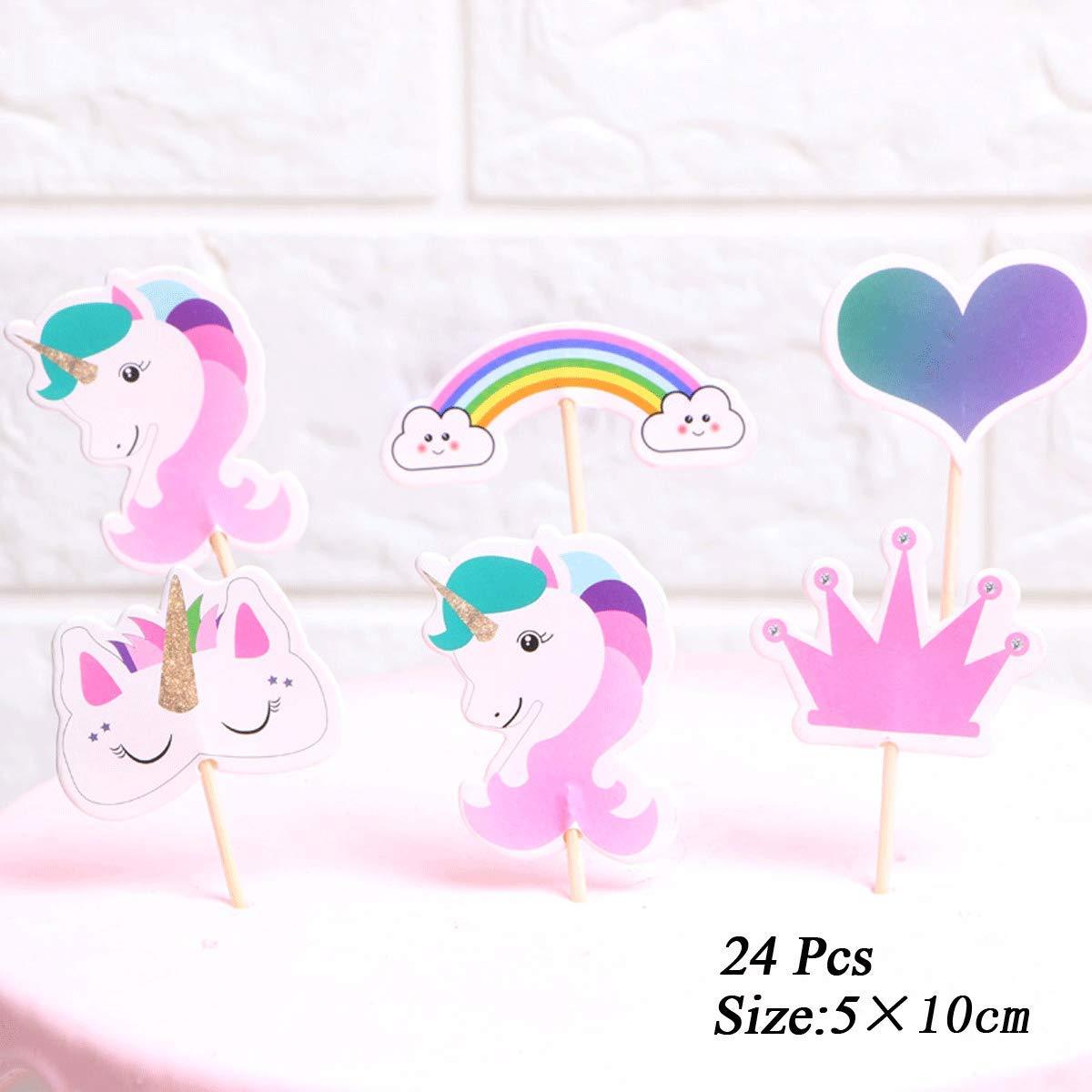 148 St/ück Cupcake-F/örmchen Set Kuchenpapier Wrapper Cupcake Backf/örmchen mit Cupcake Toppers f/ür Partys Geburtstag Kuchen Dekoration