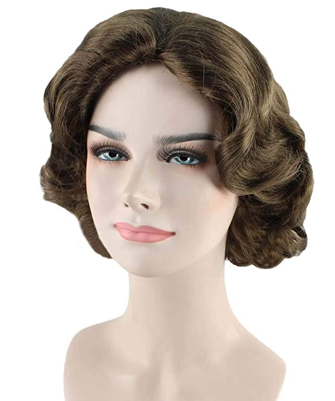 Vintage Hair Accessories: Combs, Headbands, Flowers, Scarf, Wigs Wig for Cosplay Mary Poppins Returns HW-2769 $24.99 AT vintagedancer.com