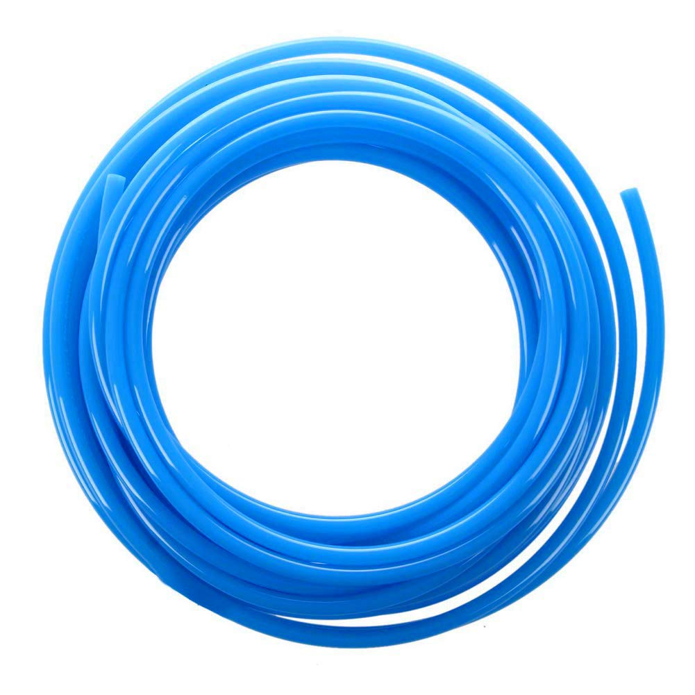 "Beduan Pneumatic Tubing Pipe 5/16"" OD Blue Air Compressor PU Line Hose Tube for Water Fluid Transfer 12Meter 39.4ft"