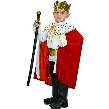 SEA HARE Conjunto de Disfraz de fantasía y Traje de Rey Infantil ...