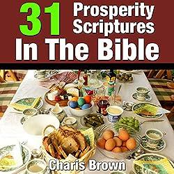 31 Prosperity Scriptures in the Bible