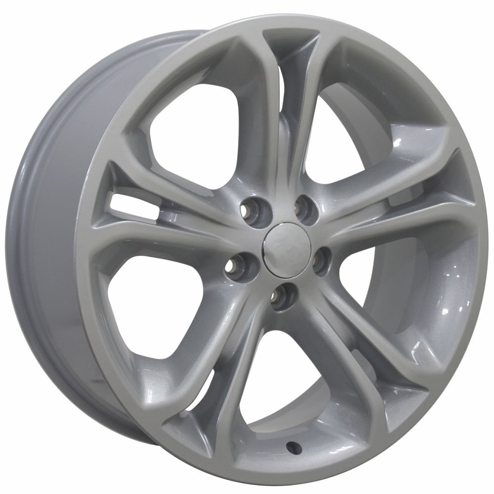 20x8.5 Wheel Fits Ford SUV - Explorer Style Silver Rim, Hollander 3860 by OE Wheels LLC (Image #4)