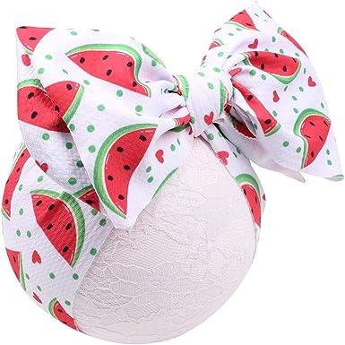 bow headband baby headband Watermelon headband,Topknot headband