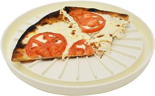 Amazon.com: Bandeja redonda microondas multiusos | Pizza ...