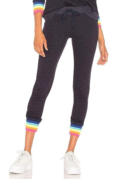 5af4eb26ed Amazon.com: SUNDRY Rainbow Rib Sweatpant (3): Clothing
