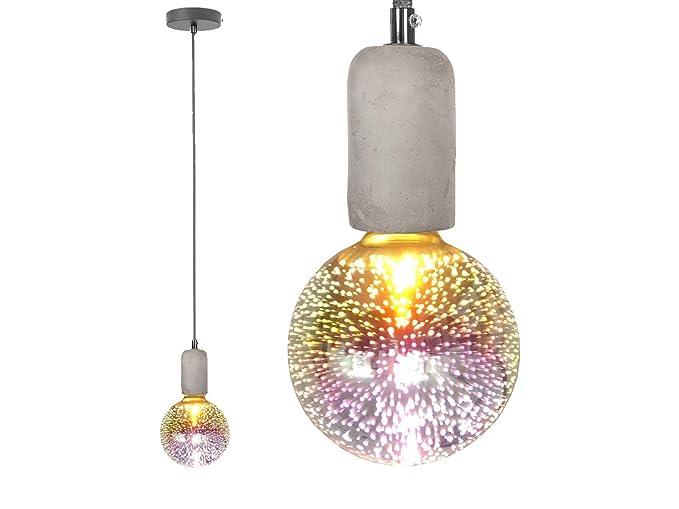 LED Vintage cuerda colgante, modelos lámpara de techo de ...