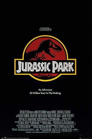 Jurassic Park Poster Logo 283 Official Merchandise