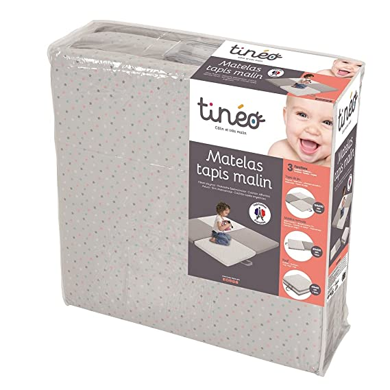 Tineo Matelas Tapis Malin 3 En 1 Grey Star Amazon Fr Bebes