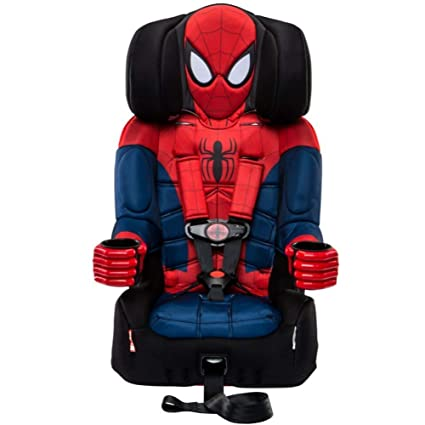 KidsEmbrace 2-in-1 Harness Booster Car Seat - Impeccable Design For Marvel Fans