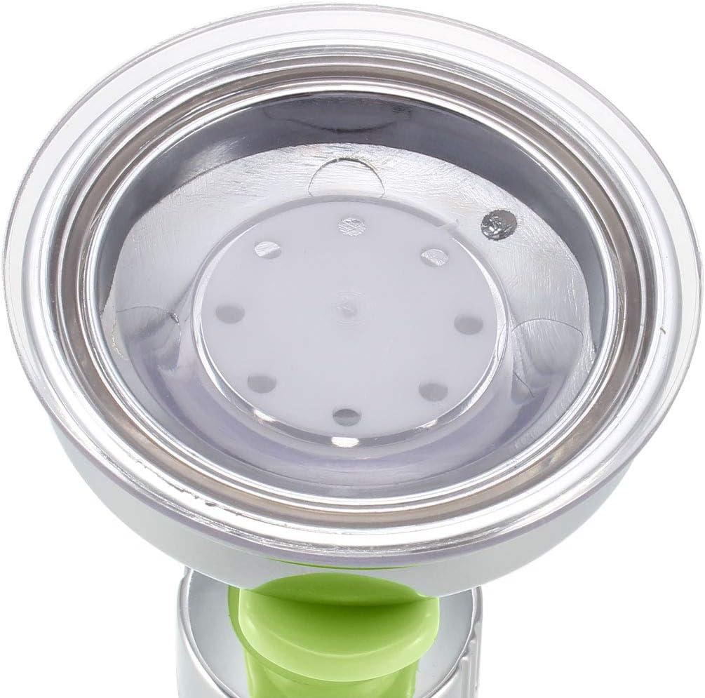 uxcell Shower Head Holder Adjustable Suction Cup Wall Mount Handheld Shower Bracket 105mm Green