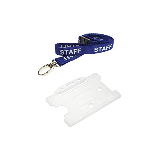 ID Card It ID Card Holder and Lanyard Neck Strap - Staff