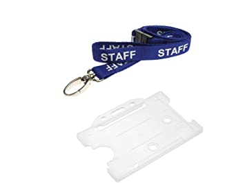 ID Card It ID Card Holder and Lanyard Neck Strap - Staff  Amazon.co ... 1c5fc6bd0