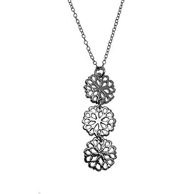 259bfb212ee Collier motif pendentif triple collection ALHAMBRA  Amazon.fr  Bijoux