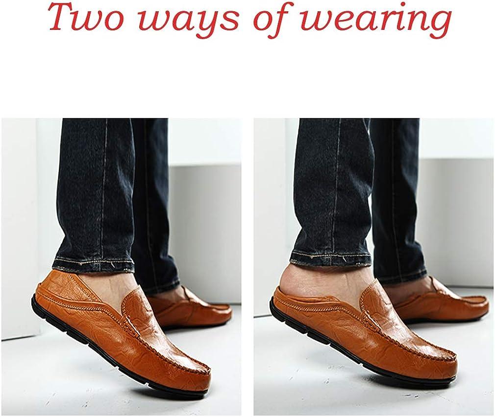 Homme minimalisme Conduite Mocassins Cuir Mocassins À Enfiler Penny Chaussures fashion