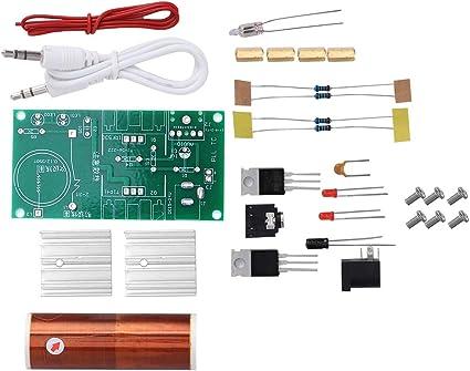 15W DC 15-24V 2A Mini Tesla Coil Plasma Speaker Electric Electronic/_Kit DIY Tool