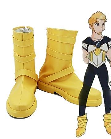 Sailor Moon Usagi Tsukino Male Cosplay Shoes Boots Custom Made