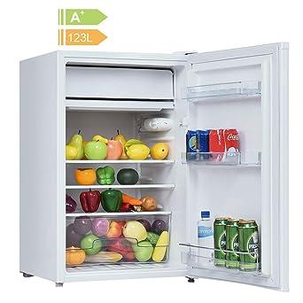 Frigorífico compacto de 123 L con congelador, una puerta ...