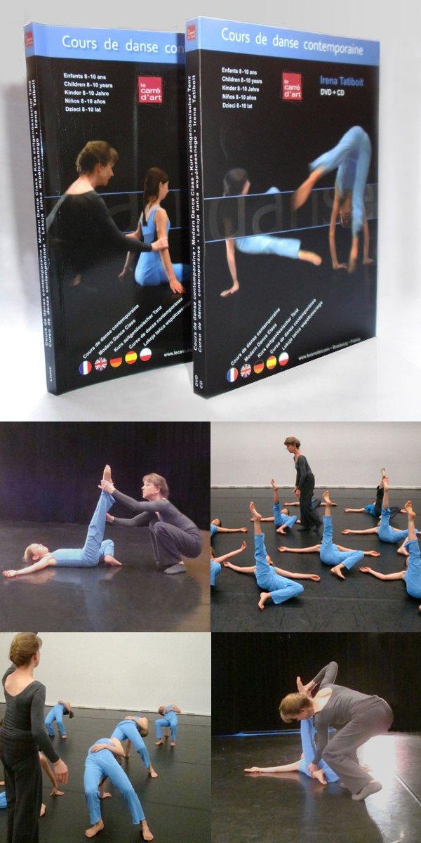 DVD + CD + Libro- curso de danza contemporánea Irena ...