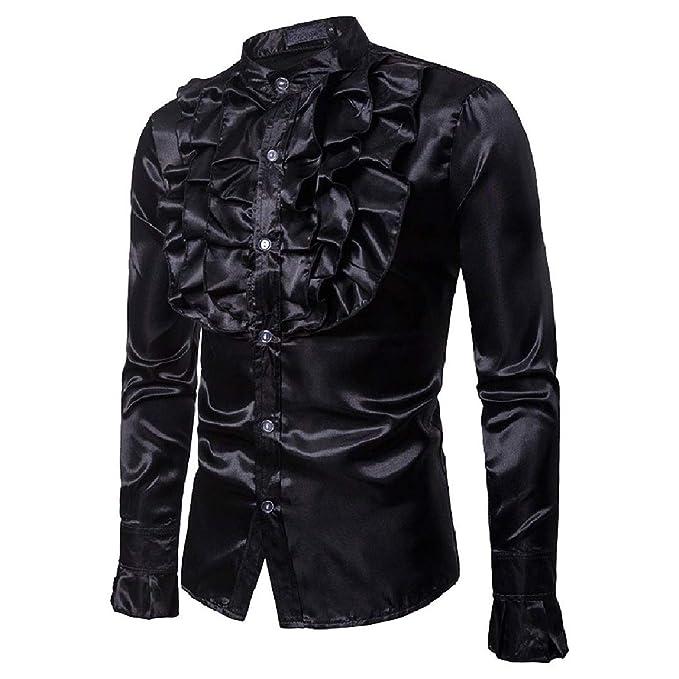 Abetteric Men Autumn Plaid Lapel Slim Casual Long-Sleeve Shirts Shirts