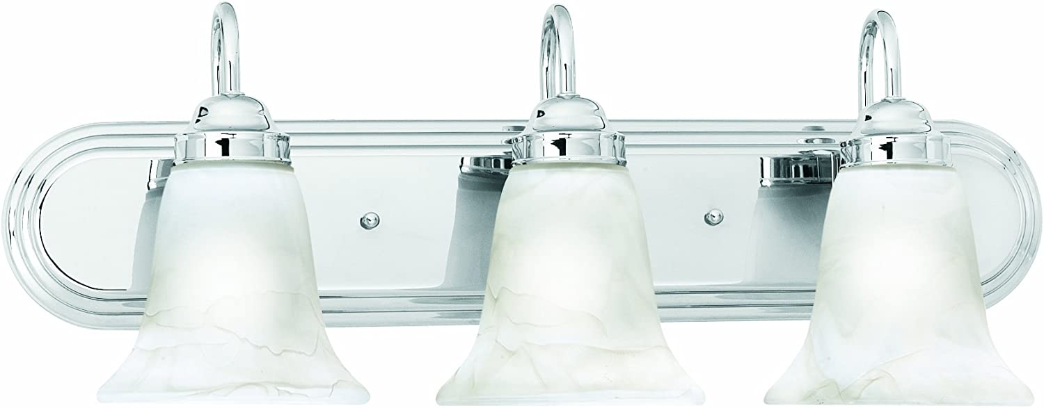 Thomas Lighting SL75834 Homestead Bath Light, Chrome